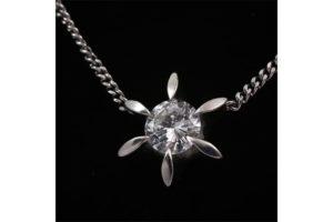 1ctアップの大粒ダイヤプラチナネックレス高価買取|西宮市のお客様
