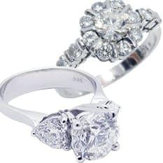 西宮市ダイヤモンド買取