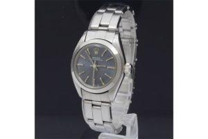 ロレックスのオイスターパーペチュアルレディース時計高価買取|JR西宮店