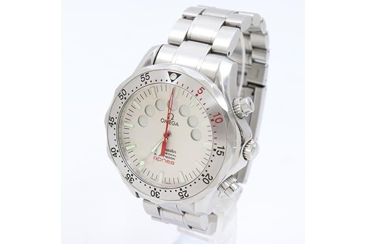 オメガの時計シーマスターアプネアマイヨールを高価買取|吹田江坂店
