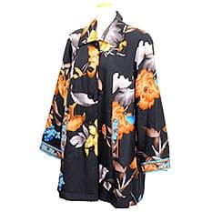 レオナール 花柄シャツ