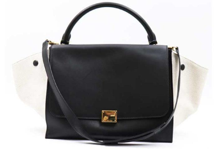 枚方ビオルネ店にてセリーヌのトラペーズハンドバッグを高価買取!