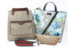 大阪・南堀江のお客様よりグッチのバッグ、小物など4点を出張買取