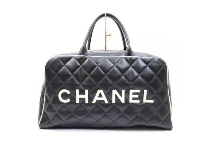 枚方ビオルネ店でシャネルのマトラッセボストンバッグを高価買取!