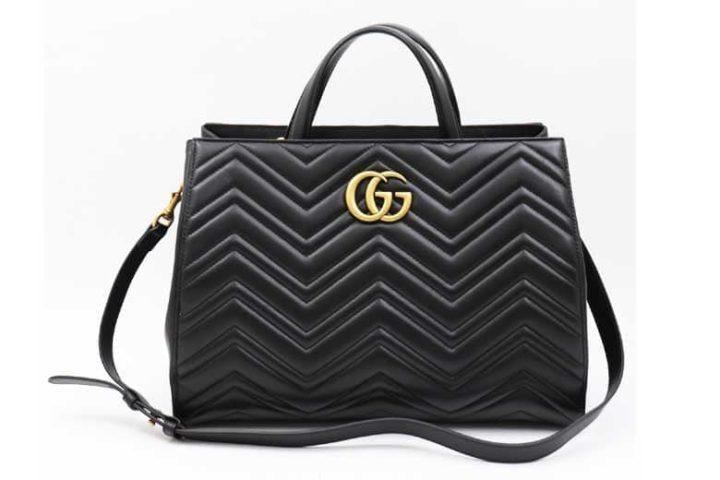 枚方ビオルネ店でグッチのGGマーモント2wayバッグを高価買取