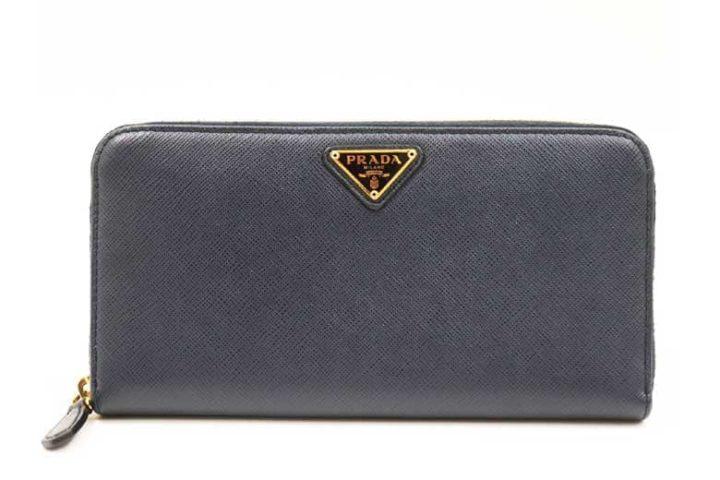 ブランドハンズJR西宮店にてプラダのサフィアーノ ラウンドファスナー 長財布を高価買取!