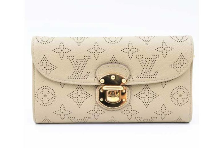 ブランドハンズJR西宮店にてルイヴィトンのマヒナ ポルトフォイユ アメリア 長財布を高価買取