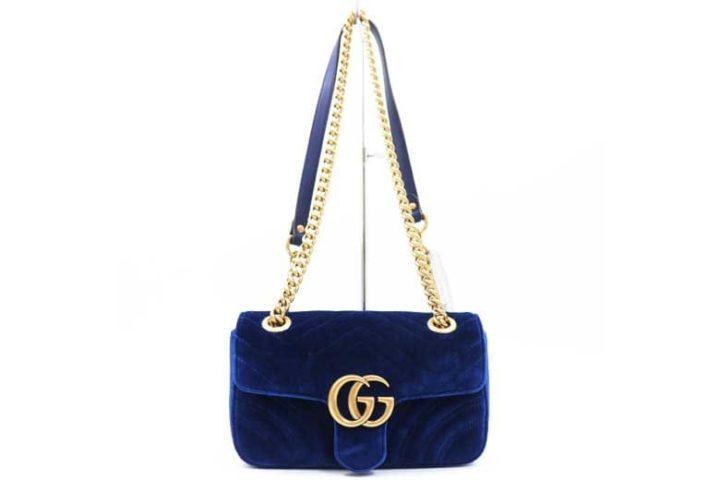 ブランドハンズJR西宮店にてグッチのGGマーモント チェーンショルダ―バッグを高価買取
