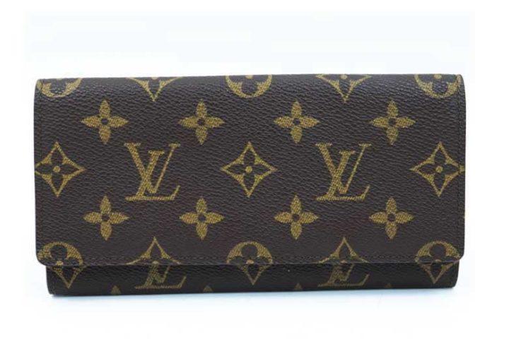 ブランドハンズ枚方ビオルネ店にてルイヴィトンのモノグラム ポルトエンカルトクレディ 長財布を高価買取